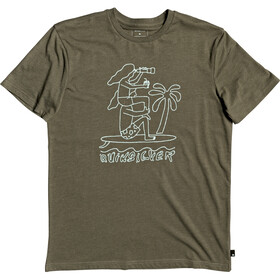 Quiksilver Turning Heads SS Tee Men kalamata